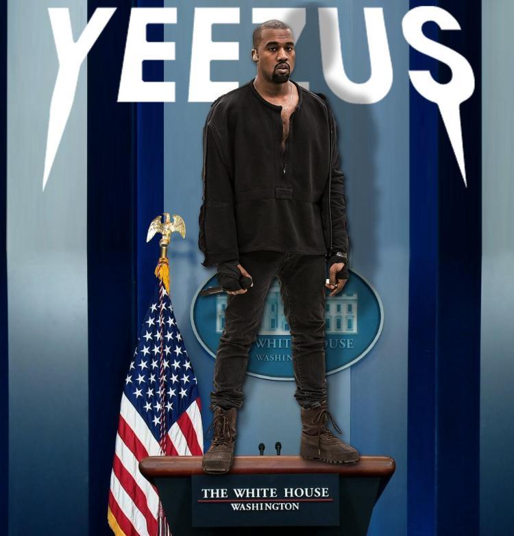 kanye west white house