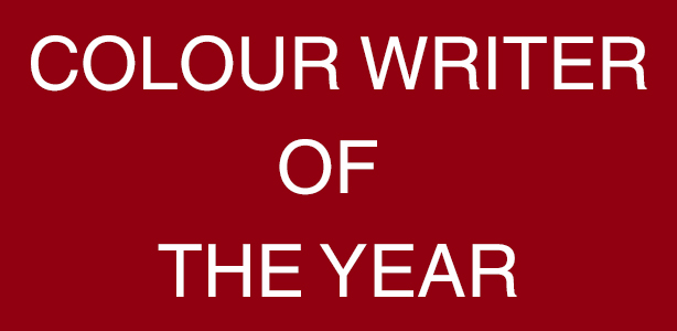 Colour Writer Of The Year