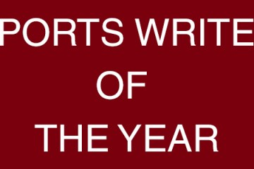Sports Writer Of The Year