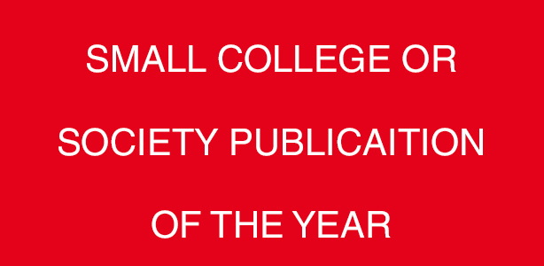 Small College Or Society Publication Of The Year