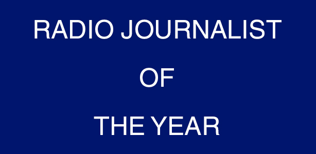 Radio Journalist Of The Year