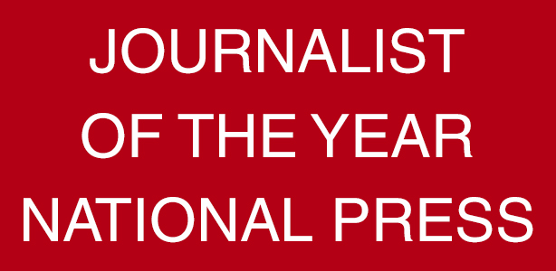 Journalist Of The Year- National Press