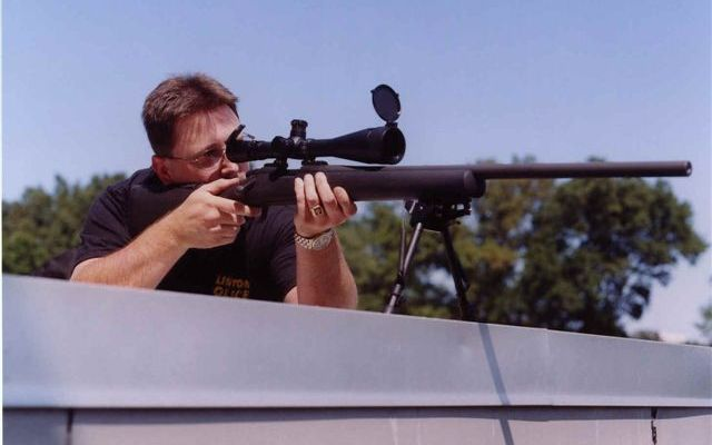 Sniper for Inauguration