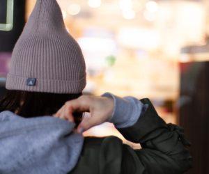 fashion style woman beauty hoodie winter autumn