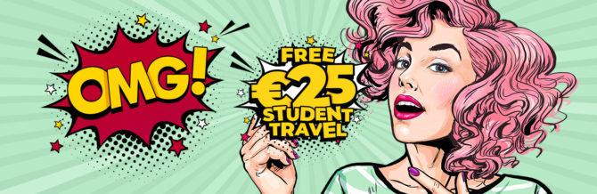 bus eireann expressway student travel voucher goodie bag 2019