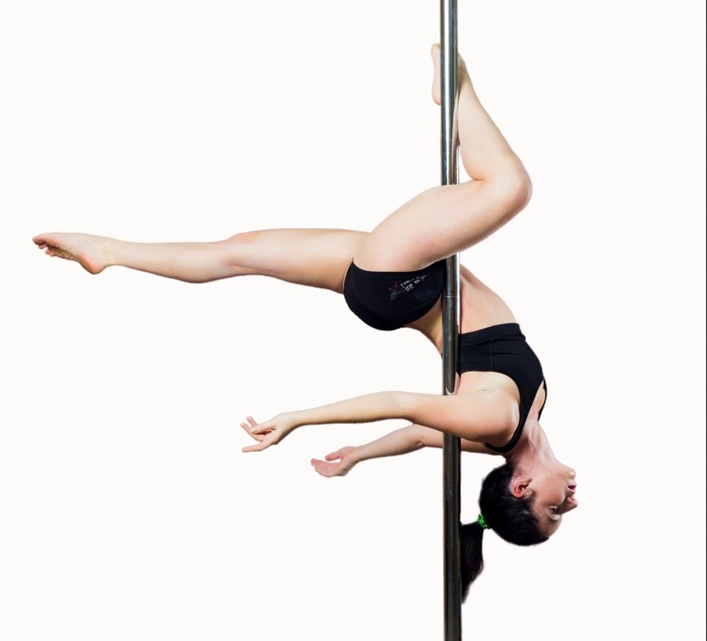 Figure de Pole Dance Laetitia Colme Ecole de Pole Dance Carcassonne