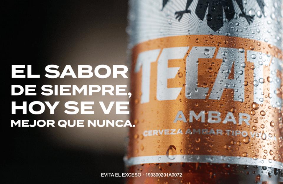 Cerveza Tecate presenta nueva imagen