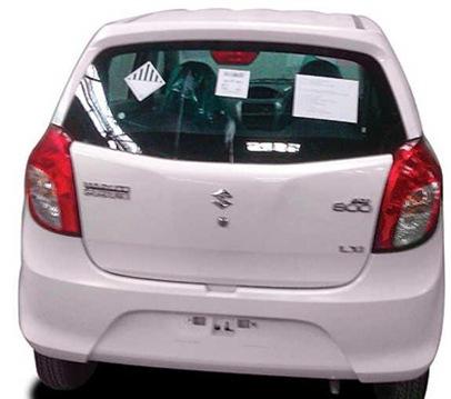 Maruti Suzuki Alto 800 - 2 back