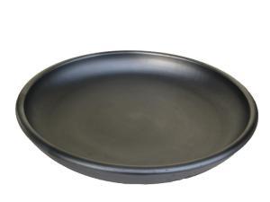 plat à four en terre cuite noire Oyera