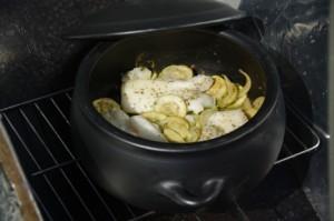 recette au four solaire et cocotte en terre cuite