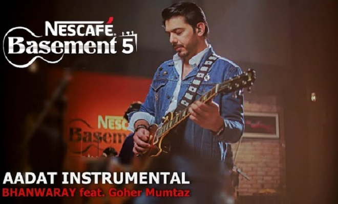 Image result for Nescafe Basement Is Back again with Magic of Aadat Featuring Gohar Mumtaz