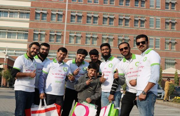 Zong 4G brings joy to Shaukat Khanum Memorial Trust Hospital. Peshawar - OyeYeah
