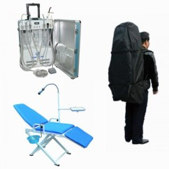Portable Dental Chair Philippines Swivel Rocking Parts High Quality Unit Gu P206 109 A 360 Storage Bag With Wholesale Price Oyodental Com