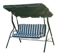 NEW Swinging Garden Hammock Swing Chair, Outdoor Bench ...