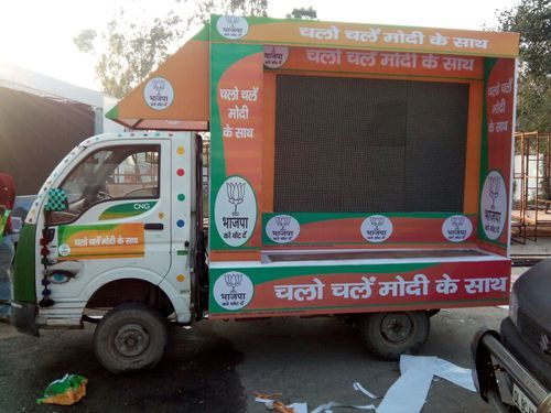 LED van For Advertising or Election campaign