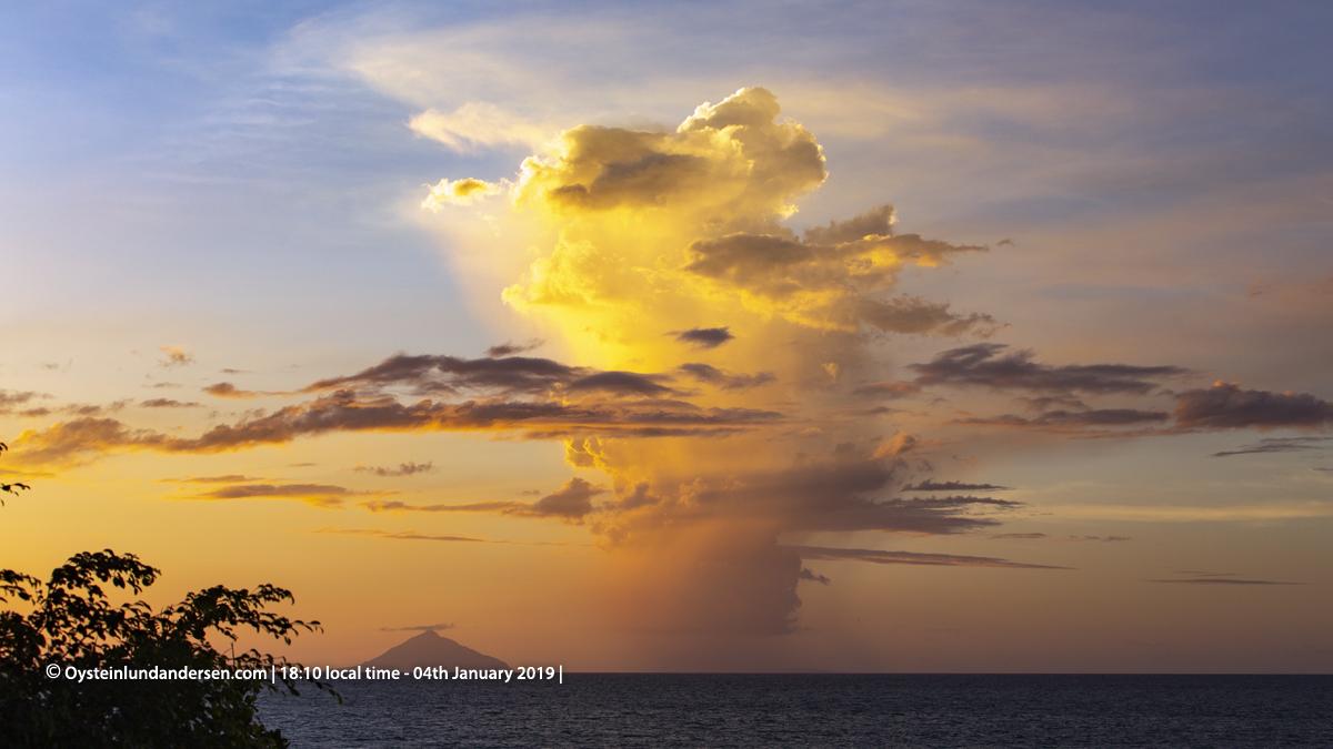 Krakatau Volcano PhreatomagmaticSurtseyan Eruptions Seen