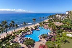 Aerial Photography at the Hyatt Regency Maui Resort And Spa