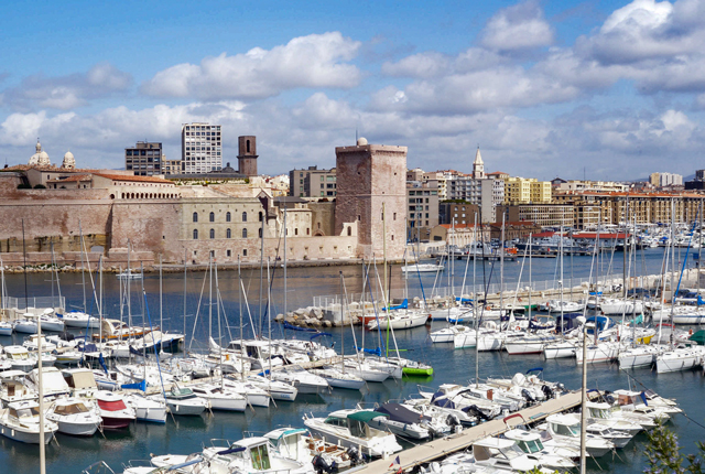The view from the Superior Room at the Sofitel Marseille Vieux-Port/Oyster