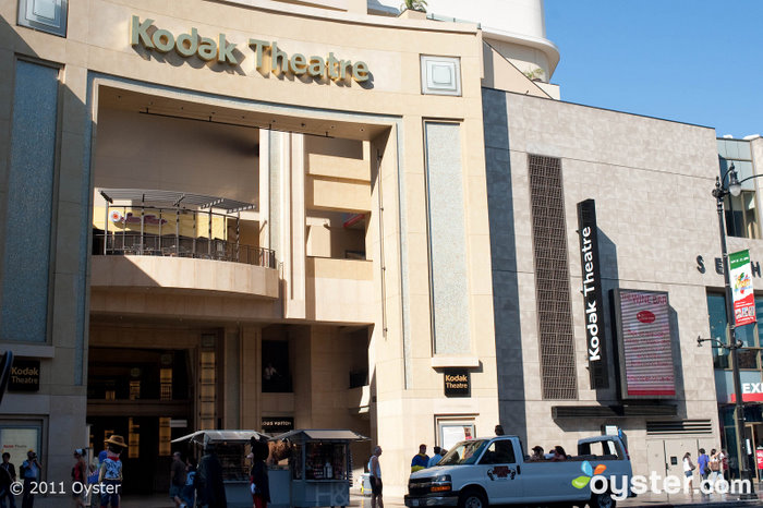 The Academy Awards were held in the Kodak Theatre in Los Angeles.