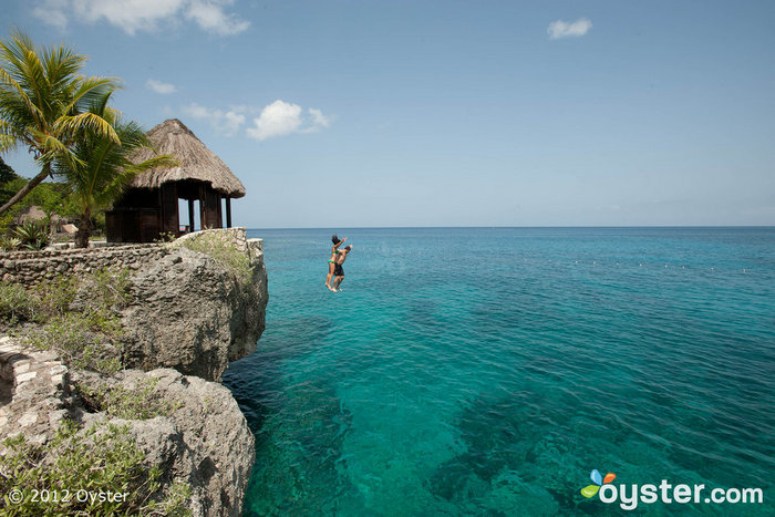 Dive right into the Caribbean Sea from your room at the Rockhouse.