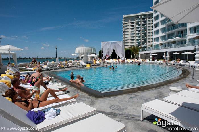 Many of South Beach's swanky party hotels are already sold out for Super Bowl weekend, but the Mondrian still has room.