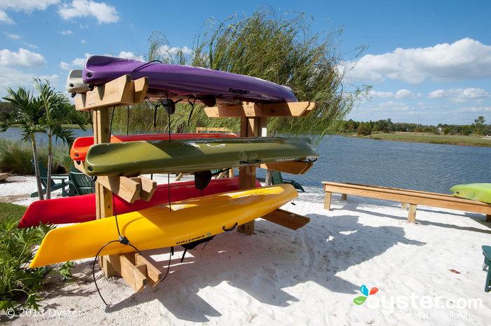 Kayaks at The Ritz-Carlton Orlando Grande Lakes