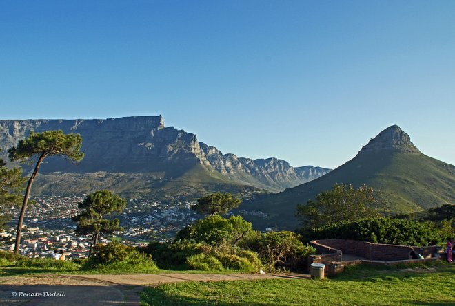 Table Mountain and Lion's Head Mountain in Cape Town Photo credit: Flickr/dorena-wm