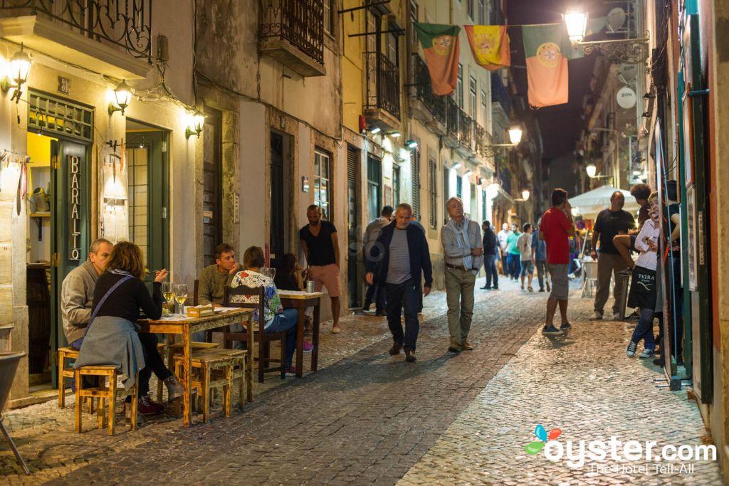 Bairro Alto, Lisbon/Oyster