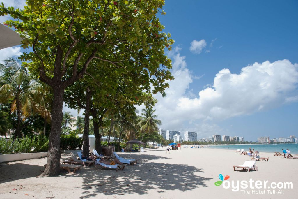 The Beach in San Juan