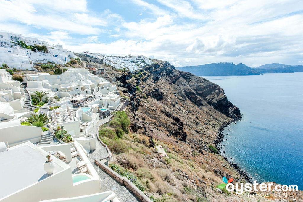 Grounds at Mystique Luxury Collection Hotel, Oia, Santorini/Oyster