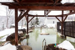 Open-Air Mixed Onsen at Niseko Grand Hotel/Oyster