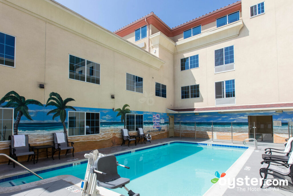 Holiday Inn Express Hotel Suites Hollywood Hotel Walk Of