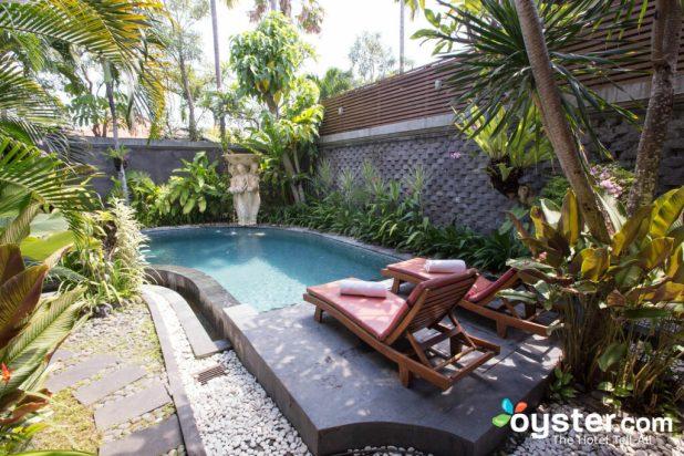 seminyak one bedroom  pool  villa www stkittsvilla com