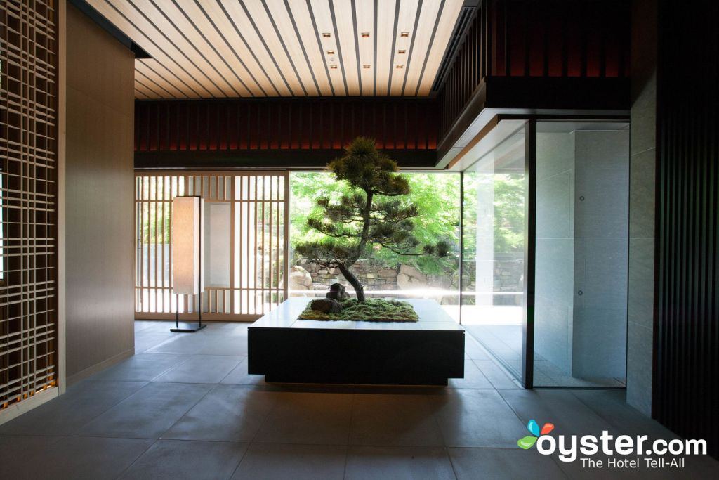 Entrance at The Ritz-Carlton Kyoto