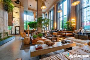 Lobby at 1 Hotel Brooklyn Bridge/Oyster
