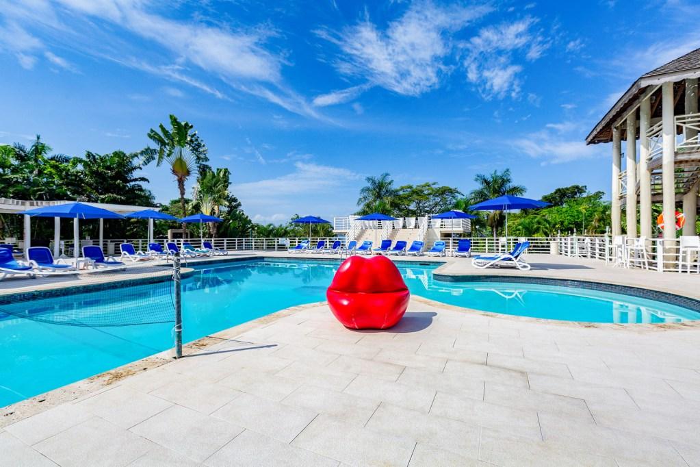 Pool at Hedonism II, Jamaica