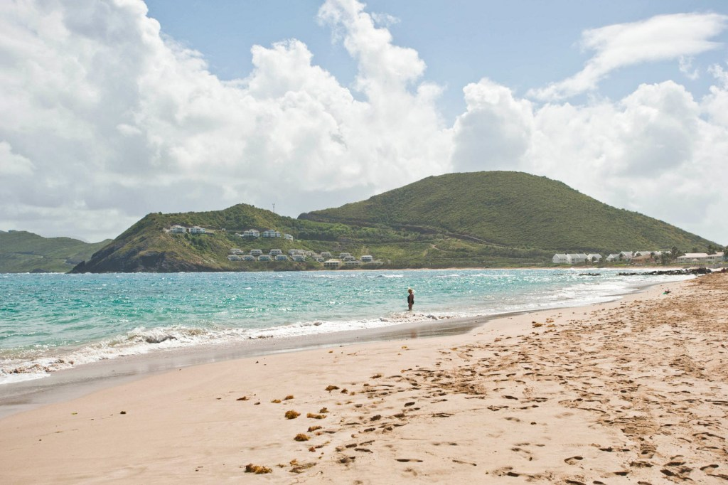 Frigate Bay Beach at the St. Kitts Marriott Resort & The Royal Beach Casino