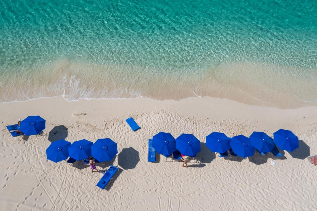 Aerial Photography at the The Ocean Club, A Four Seasons Resort, Bahamas