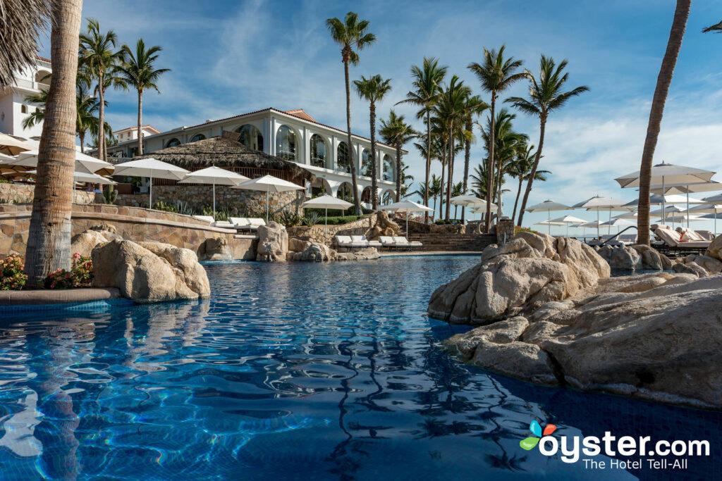 La piscina de adultos en One & Only Palmilla