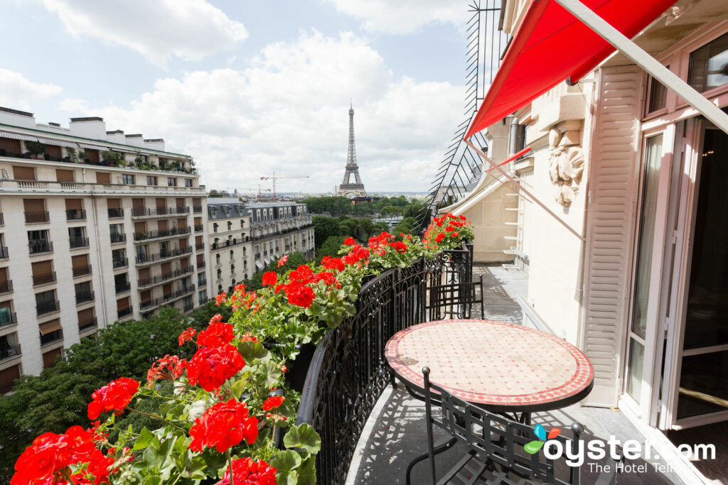 Paris Hotels With Eiffel Tower Views Oyster Com