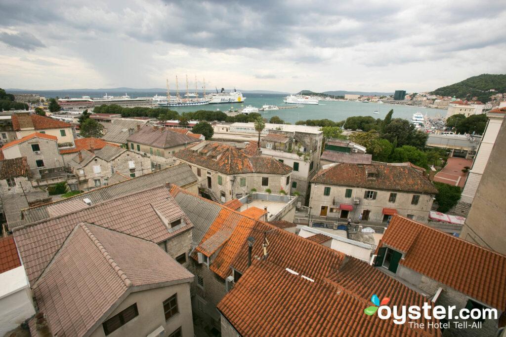 Vista desde el Hotel Luxe, Split / Oyster