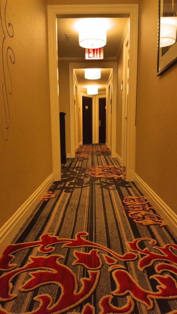 Hallway on the 10th floor