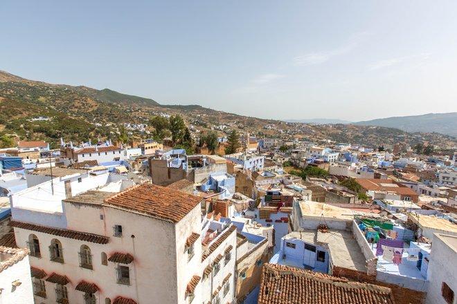 Blick von der Terrasse des Lina Ryad & Spa / Oyster