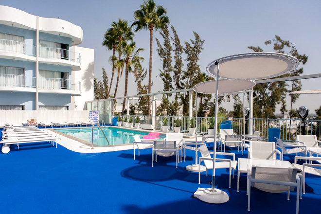 Pool Bar en The Standard Hollywood / Oyster