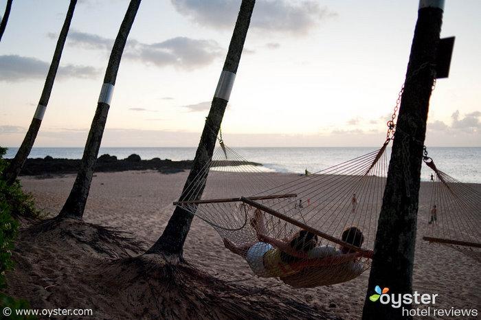 Hamaca en el Ke Iki Beach Bungalows