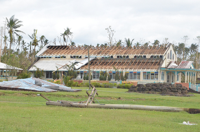 Photo of the aftermath of Cyclone Evan in Samoa by theDepartment of Foreign Affairs and Trade