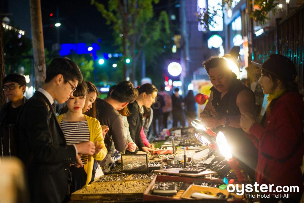 Nachtmärkte in Seoul / Oyster