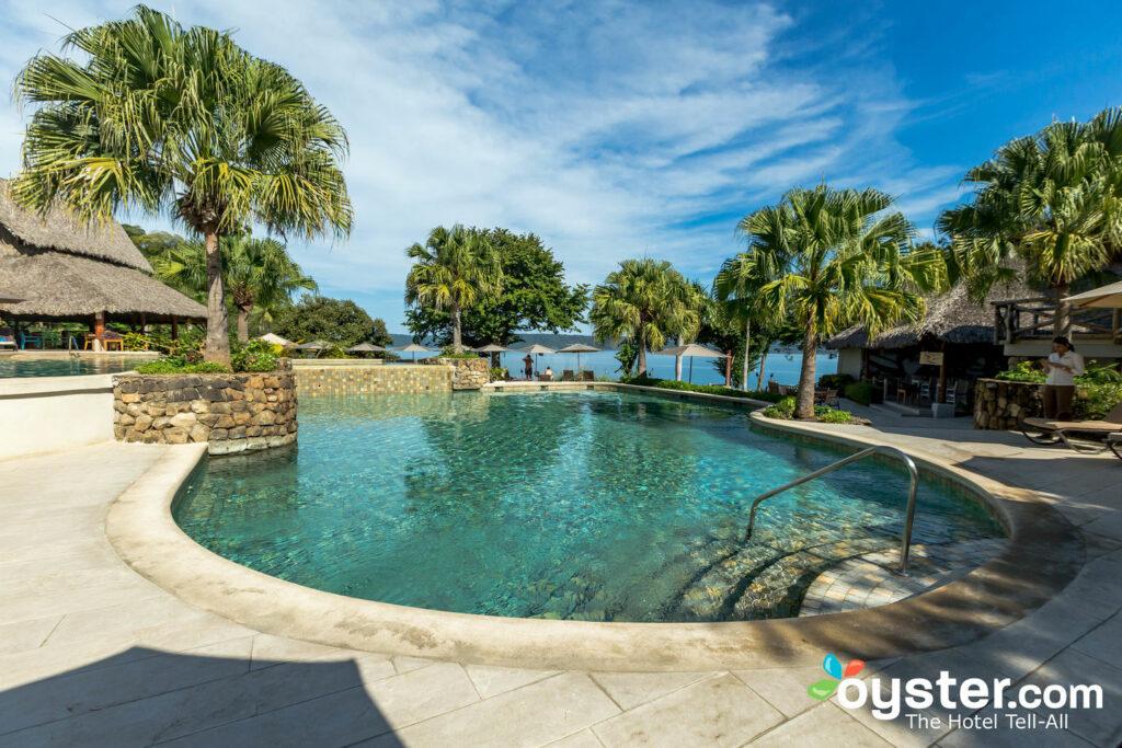 La piscine principale de Secrets Papagayo Costa Rica / Huître