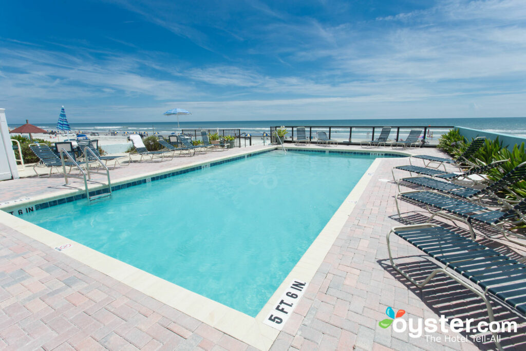 Pool at Daytona Shores Inn and Suites/Oyster