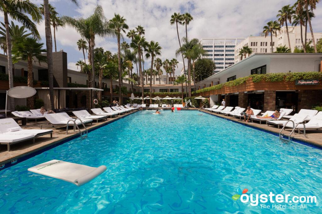 Der Pool im Hollywood Roosevelt / Oyster